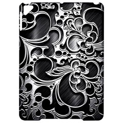 Floral High Contrast Pattern Apple Ipad Pro 9 7   Hardshell Case by Sapixe