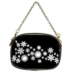 Flower Power Flowers Ornament Chain Purses (one Side)  by Sapixe