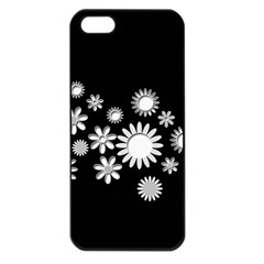 Flower Power Flowers Ornament Apple Iphone 5 Seamless Case (black) by Sapixe
