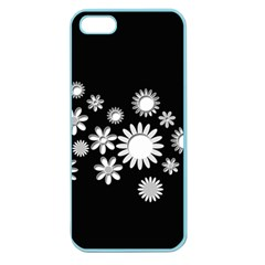 Flower Power Flowers Ornament Apple Seamless Iphone 5 Case (color) by Sapixe