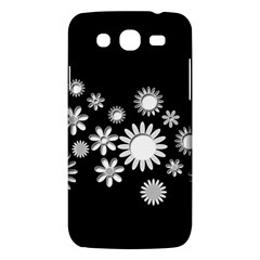 Flower Power Flowers Ornament Samsung Galaxy Mega 5 8 I9152 Hardshell Case  by Sapixe