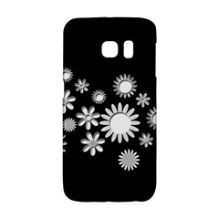 Flower Power Flowers Ornament Galaxy S6 Edge by Sapixe