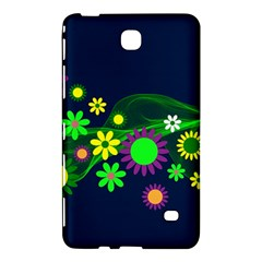 Flower Power Flowers Ornament Samsung Galaxy Tab 4 (8 ) Hardshell Case  by Sapixe