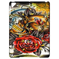 Flower Art Traditional Apple Ipad Pro 9 7   Hardshell Case by Sapixe