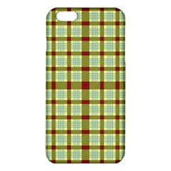 Geometric Tartan Pattern Square Iphone 6 Plus/6s Plus Tpu Case by Sapixe