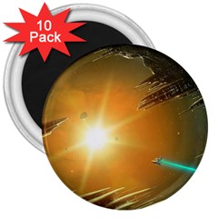 Future City 3  Magnets (10 Pack)