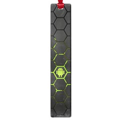 Green Android Honeycomb Gree Large Book Marks by Sapixe