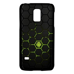Green Android Honeycomb Gree Galaxy S5 Mini by Sapixe