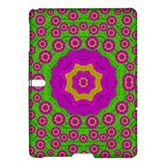 Decorative Festive Bohemic Ornate Style Samsung Galaxy Tab S (10 5 ) Hardshell Case  by pepitasart