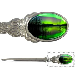 Green Northern Lights Canada Letter Openers by Sapixe