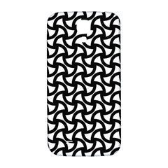 Grid Pattern Background Geometric Samsung Galaxy S4 I9500/i9505  Hardshell Back Case by Sapixe