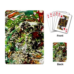 April   Birds Of Paradise 5 Playing Card