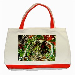 April   Birds Of Paradise 5 Classic Tote Bag (red)