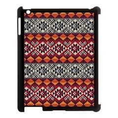 Mayan Symbols Pattern  Apple Ipad 3/4 Case (black) by Cveti