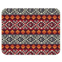 Mayan Symbols Pattern  Double Sided Flano Blanket (medium)  by Cveti