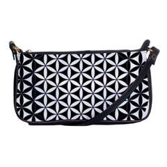 Flower Of Life Hexagon Cube 4 Shoulder Clutch Bags by Cveti