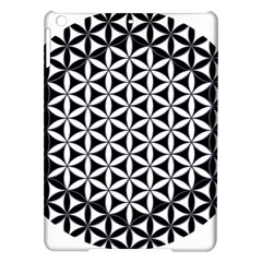 Flower Of Life Hexagon Cube 4 Ipad Air Hardshell Cases by Cveti