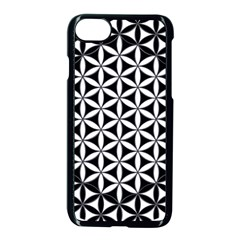 Flower Of Life Hexagon Cube 4 Apple Iphone 8 Seamless Case (black) by Cveti