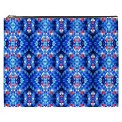 Artwork By Patrick Colorful 27 Cosmetic Bag (xxxl)