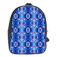 Artwork By Patrick Colorful 27 School Bag (xl)