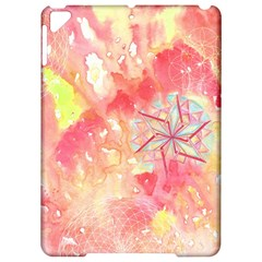 Flower Of Life Pattern Pink Apple Ipad Pro 9 7   Hardshell Case by Cveti