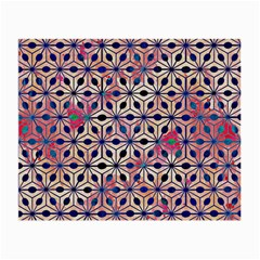 Asterisk Pattern Sacred Geometry 2 Small Glasses Cloth by Cveti