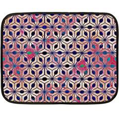 Asterisk Pattern Sacred Geometry 2 Double Sided Fleece Blanket (mini)  by Cveti