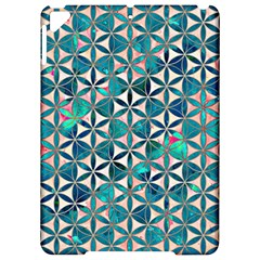 Flower Of Life, Paint, Turquoise, Pattern, Apple Ipad Pro 9 7   Hardshell Case by Cveti