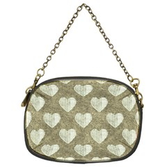 Hearts Motif Pattern Chain Purses (one Side)  by dflcprints