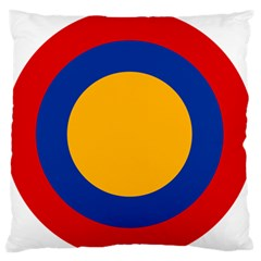 Roundel Of Armenian Air Force Standard Flano Cushion Case (one Side) by abbeyz71