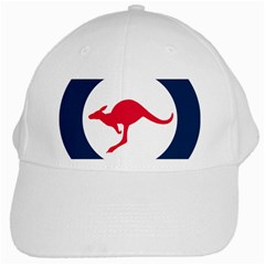Roundel Of The Australian Air Force White Cap by abbeyz71