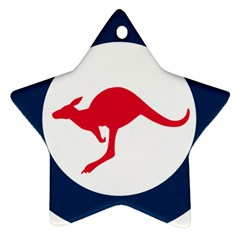 Roundel Of The Australian Air Force Ornament (star) by abbeyz71