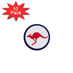 Roundel Of The Australian Air Force 1  Mini Buttons (10 Pack)  by abbeyz71