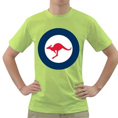 Roundel Of The Australian Air Force Green T Shirt by abbeyz71