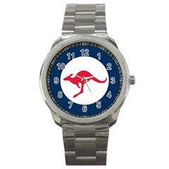 Roundel Of The Australian Air Force Sport Metal Watch by abbeyz71