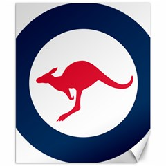 Roundel Of The Australian Air Force Canvas 8  X 10  by abbeyz71