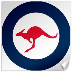 Roundel Of The Australian Air Force Canvas 12  X 12   by abbeyz71