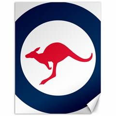 Roundel Of The Australian Air Force Canvas 18  X 24   by abbeyz71