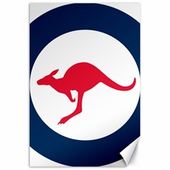 Roundel Of The Australian Air Force Canvas 20  X 30   by abbeyz71