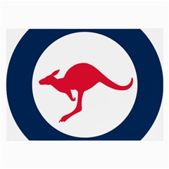 Roundel Of The Australian Air Force Large Glasses Cloth by abbeyz71