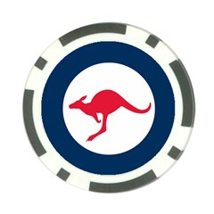 Roundel Of The Australian Air Force Poker Chip Card Guard (10 Pack) by abbeyz71