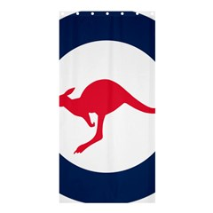 Roundel Of The Australian Air Force Shower Curtain 36  X 72  (stall)  by abbeyz71
