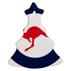 Roundel Of The Australian Air Force Christmas Tree Ornament (two Sides) by abbeyz71