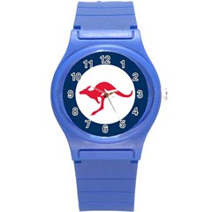 Roundel Of The Australian Air Force Round Plastic Sport Watch (s) by abbeyz71