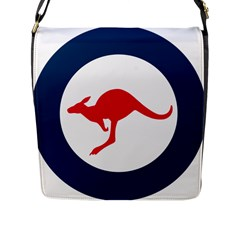 Roundel Of The Australian Air Force Flap Messenger Bag (l)  by abbeyz71