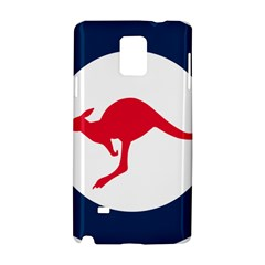 Roundel Of The Australian Air Force Samsung Galaxy Note 4 Hardshell Case by abbeyz71