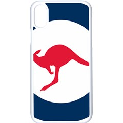 Roundel Of The Australian Air Force Apple Iphone X Seamless Case (white) by abbeyz71