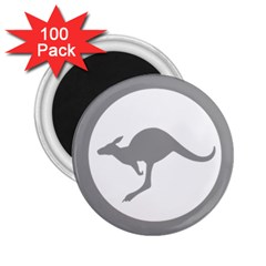 Low Visibility Roundel Of The Australian Air Force 2 25  Magnets (100 Pack)  by abbeyz71