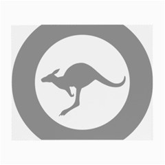 Low Visibility Roundel Of The Australian Air Force Small Glasses Cloth by abbeyz71