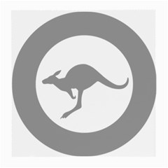 Low Visibility Roundel Of The Australian Air Force Medium Glasses Cloth by abbeyz71